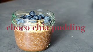 Quick & Easy CHOCO CHIA PUDDING Recipe Healthy Snack| The Meeting Arrows