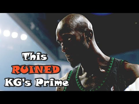 This FORGOTTEN NBA Scandal RUINED Kevin Garnett's Prime