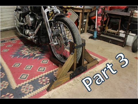 Homemade Motorcycle Stand Part 3