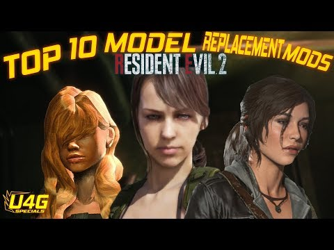 Resident Evil 2 Remake Top 10 Best Claire Redfield Model Replacement Mods