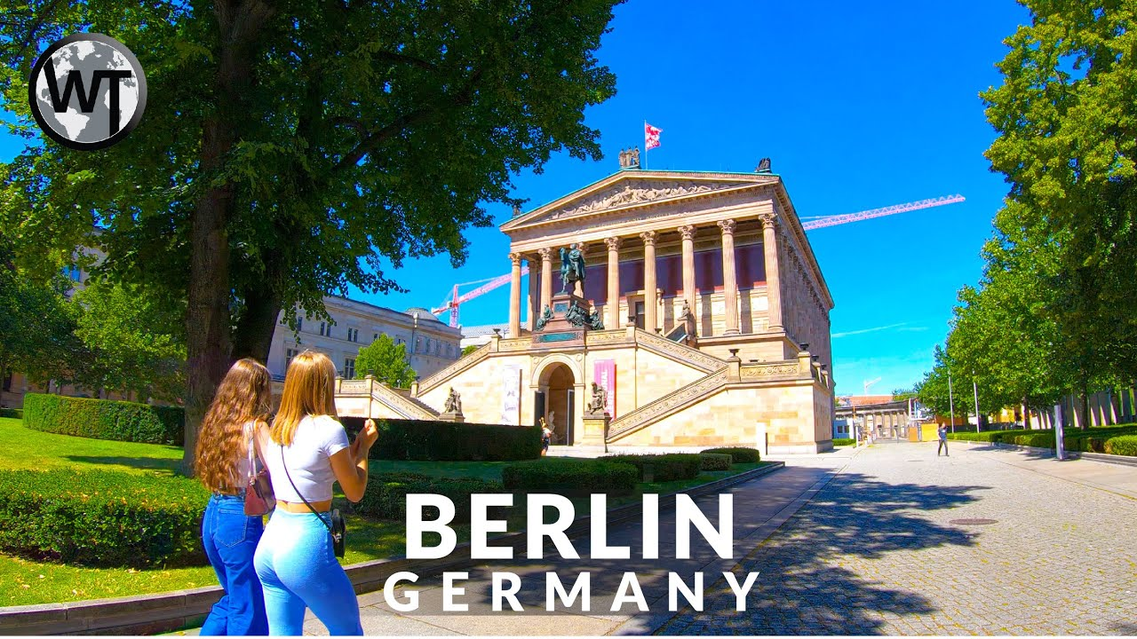 Berlin Museum Island In Video Highlights Germany 4k Walking Tour Youtube