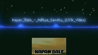 AdityaSandhy_-_Kapan Bale (Lagu Hip-Hop Papua Terbaru 2019)