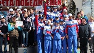 Традиционная легкоатлетическая эстафета в Ульяновске