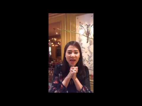 Thu Minh livestream trò chuyện hết sức dễ thương cùng mọi người :)