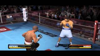 Hopkins Vs Wright - Fight Night Round 3 Gameplay PC (Emulator)