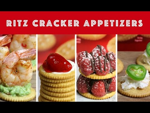 4 Easy RITZ Cracker Party Appetizers