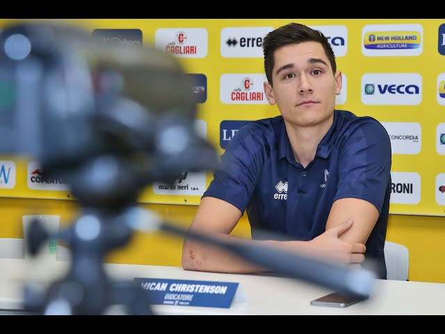 Micah Christenson in vista del match con Ostrava