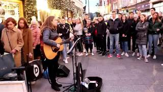 Download Allie Sherlock Live Cover of Rolling In The Deep Grafton Street Mp3 and Videos