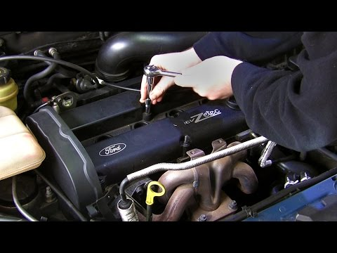 Simple how-to: Replace Ford Focus rocker (valve) cover gasket, PCV failure #2