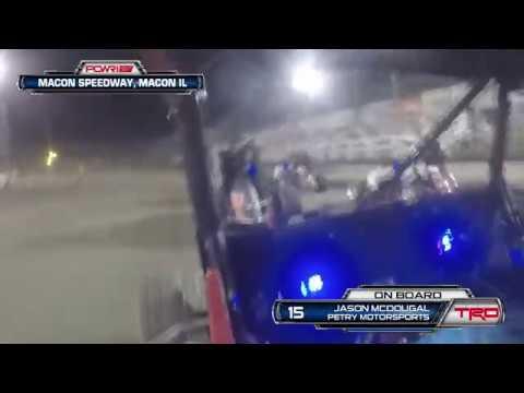 8/18/18 Jason McDougal On-Board at Macon Speedway