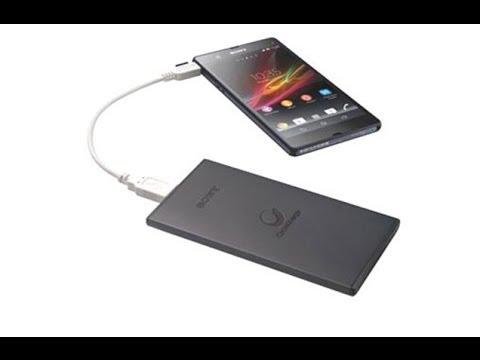 Sony Mobil şarj Cihazları Incelemesi