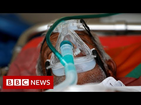 India records more than a million Covid cases in just few days - BBC News