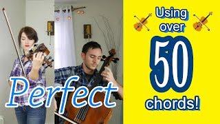 Perfect - Ed Sheeran | violin and cello cover (reharmonized with over 50 chords) | Duo.Hansen