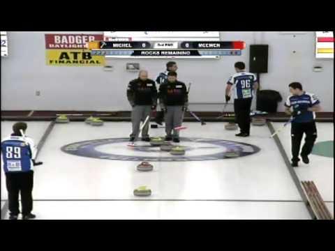 2013 Cactus Pheasant Curling Classic: Final - Mike McEwen vs Sven Michel