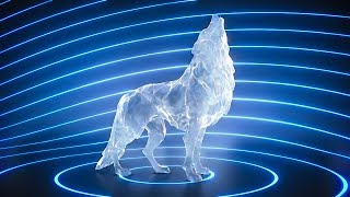 Create a Howling Wolf Ice Sculpture with Blender 2.8 and Eevee - Beginner Tutorial