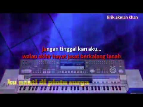 Karaoke Dangdut Ku Nanti Di Pintu Surga Versi Kn 7000