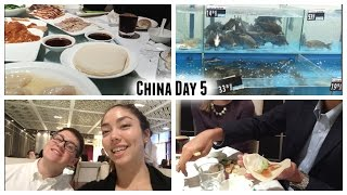 China Day 5: Visiting Companies, Walmart In China, Wet Market, And Traditional Peking Duck Dinner