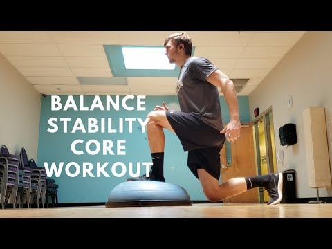 How to Improve Balance, Stability, and Core Strength for Footballers/Soccer Players