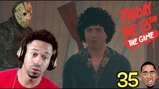 WHAT KINDA AFRO IS THIS?!! Friday the 13th Gameplay #35