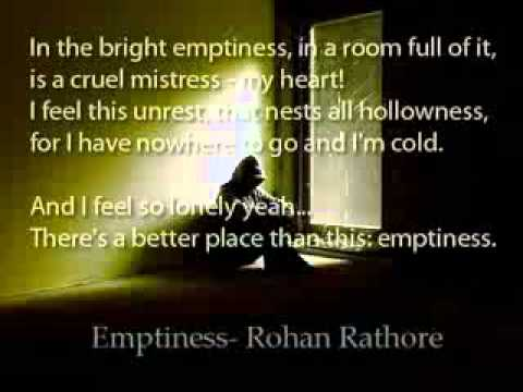 emptiness by rohan rathore