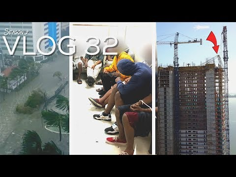 Miami Police VLOG: Hurricane Irma Landfall (Storm Surge, Looters, Down Crane)