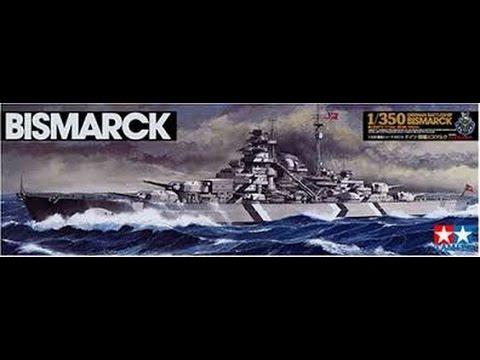 1/350 Tamiya German battleship Bismark - Inbox Review