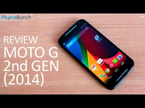 Motorola Moto G (2nd Gen 2014) Review