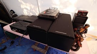 EXPENSIVE AUDIO EQUIPMENT HAUL - He Gave Us All This For FREE!?!?