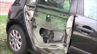Come Smontare Pannello Porta Esterno E Riparare Alzacristalli VW Golf5