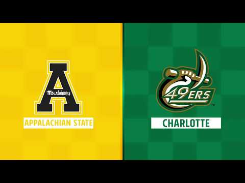 Highlights: App State at Charlotte, Week 2