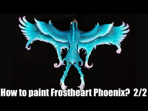 How to paint a Frostheart Phoenix? 2/2