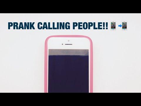 Prank calling random numbers