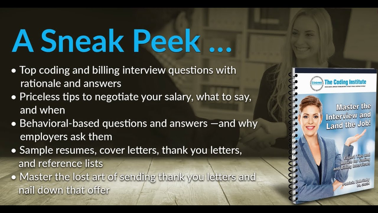 Interview Coding Billing Questions u0026 Answers Interview