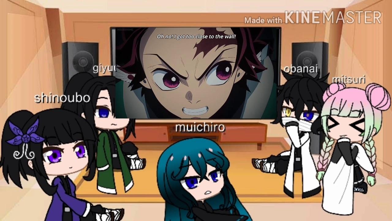 Past hashira react to nezuko 1/? Hashiras react to nezuko (credits to the owners) - YouTube