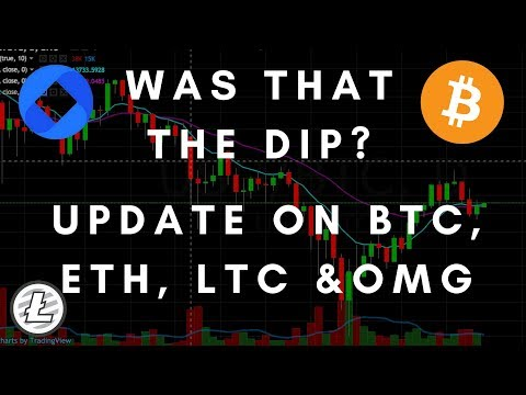 The Pull Back May Be Complete - Update on BTC, ETH, LTC & OMG
