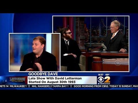 Christian Blauvelt Talks About Letterman's Legacy