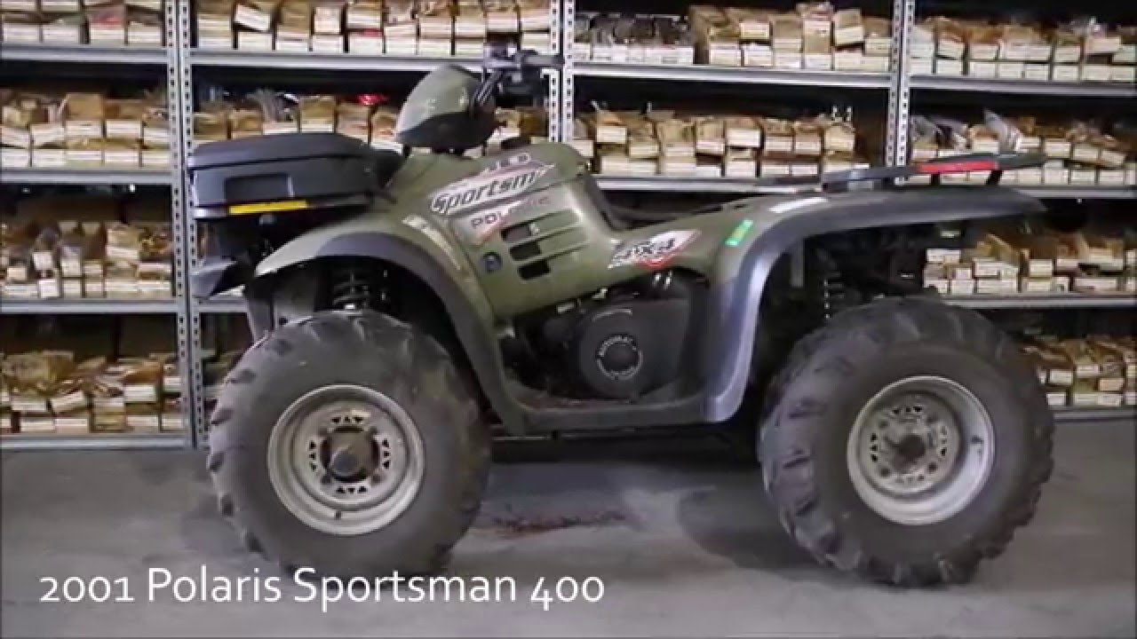 Polaris Sportsman 400 Diagram Diy Enthusiasts Wiring Diagrams 2001 Used Parts Youtube Rh Com