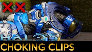 Halo 5: Guardians - Choking Clips in the Halo 3 Throwback Playlist