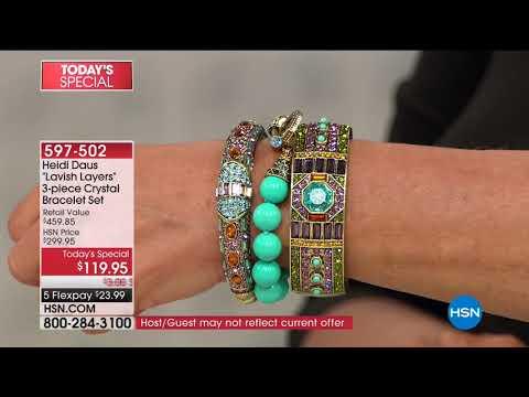 HSN | Heidi Daus Jewelry Designs 03.21.2018 - 06 AM
