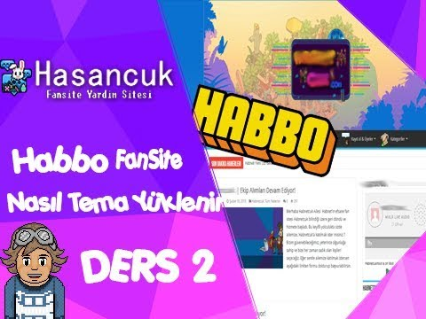 Habbo Fansite How To Install Theme COURSE 2