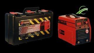 Обзор сварочного инвертора Edon MMA 250 в чемодане IGBT