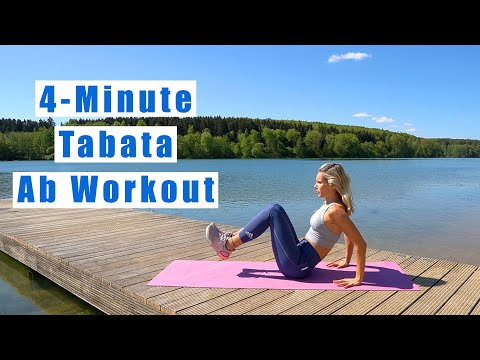 4-Minute Tabata Ab Workout
