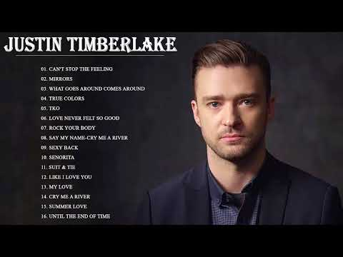 Justin Timberlake Greatest Hits - Justin Timberlake Best Of Album 2018