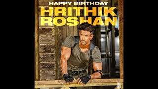 Happy Birthday Hrithik Roshan (Year 2020 ) - Tribute to The Most Generous Superstar