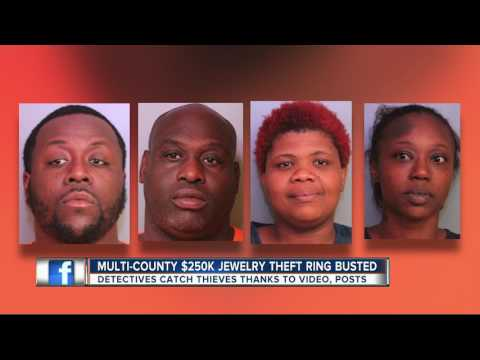 TPD: $250K jewelry store heist connected to multi-county armed crime spree