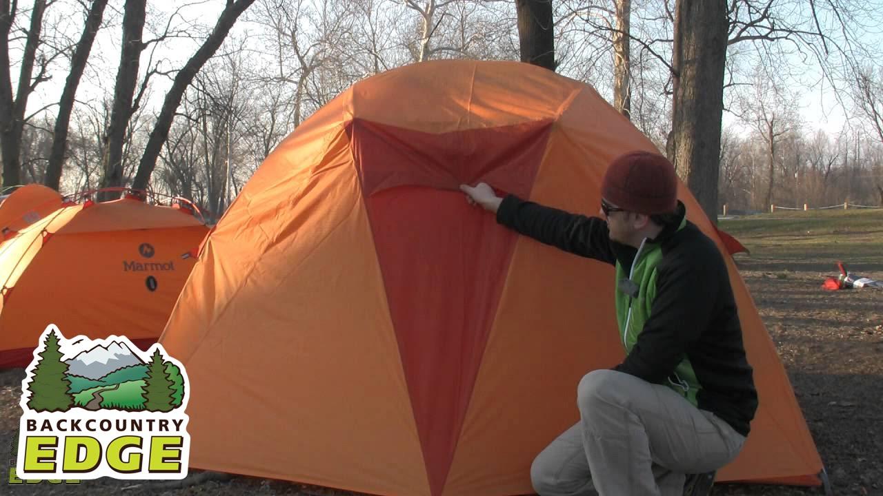 Marmot Limestone 4P Tent & Marmot Limestone 4P Tent - YouTube
