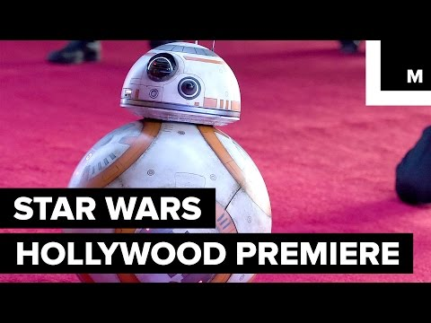 The 'Star Wars' Red Carpet Event Was Out of This World