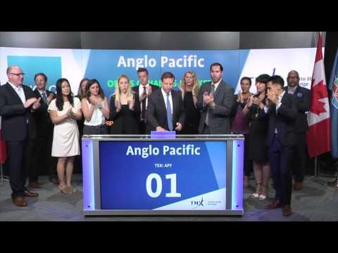 Anglo Pacific opens Toronto Stock Exchange