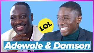 Damson Idris and Adewale Akinnuoye-Agbaje Interview Each Other