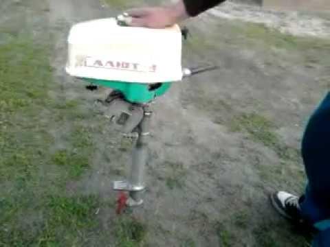 навесной лодочный мотор салют 3